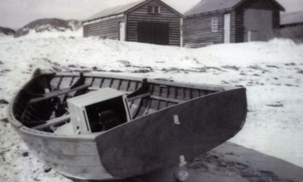 Boat sheds at Coogee Beach