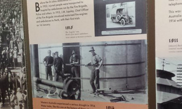 Exhibition: Perth at the Outbreak of World War I @ Spearwood Library