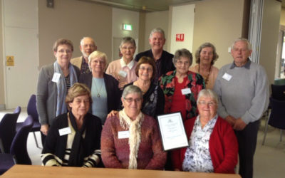 Historical Society win the 2014 WA Historical Society Award