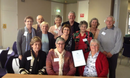 Historical Society win the 2014 WA Historical Society Award