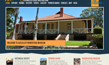 Welcome to the new Azelia Ley Museum website