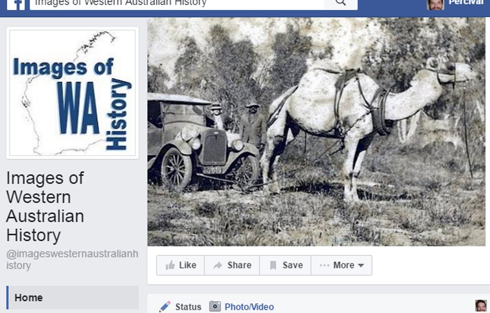 Images of Western Australian History on Facebook