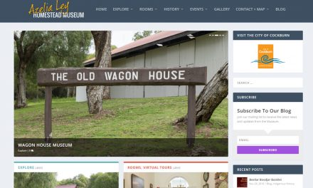 Azelia Ley Museum website has had a facelift